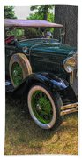 1928 Model A Ford  Beach Towel