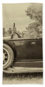 Model A Ford Roadster Beach Towel