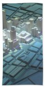 Model City 2 Beach Towel