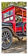 Model T Delivery Beach Towel