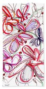 Modern Drawing Fifty-eight Beach Towel