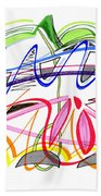 Modern Drawing Twenty-five Beach Towel