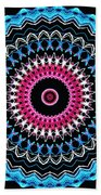 Modern Mandala Art 27 Beach Towel