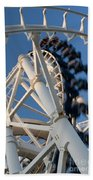 Modern Roller Coaster Beach Towel