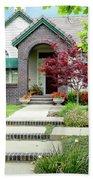 Modern Suburban House Hayward California 33 Beach Towel