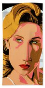 Modigliani Modern 2 Beach Towel