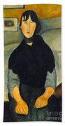 Modigliani: Woman, 1918 Beach Towel