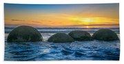Moeraki Sunrise Beach Towel
