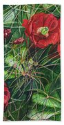 Mohave Mound Cactus Beach Towel
