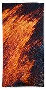 Molten Pahoehoe Lava Beach Towel