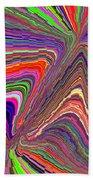 Molten Rainbow Redux Beach Towel