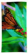 Monarch Heaven Beach Towel