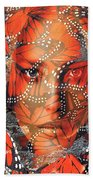 Monarch Moment Beach Towel