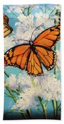 Monarchs Beach Towel