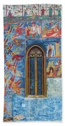Monastery Angels Beach Towel
