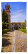 Monastery Of Saint Jerome Approach Beach Towel
