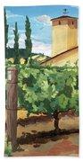Mondavi Vineyard, Napa Beach Towel