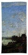 Monet Argenteuil  Beach Towel