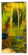 Monet Autumnal Beach Towel