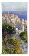 Monet: Bordighera, 1884 Beach Towel