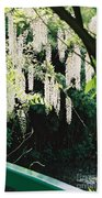 Monet's Garden Delights Beach Towel