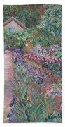 Monet's Gardens Beach Towel
