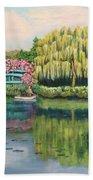 Monet's Summer Garden No.2 Beach Towel