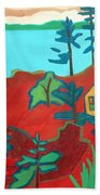 Monhegan Hue Beach Towel