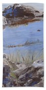 Mono Lake Beach Towel