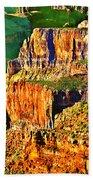Monolith North Rim Grand Canyon Beach Towel