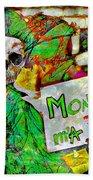 Monsanto Killed Me Beach Towel