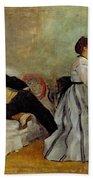 Monsieur And Madame Edouard Manet Beach Towel