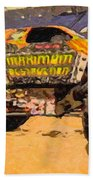 Monster Jam Party In The Pits Beach Towel