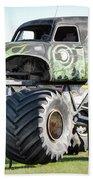 Monster Truck 4 Beach Towel