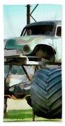 Monster Truck 6 Beach Towel