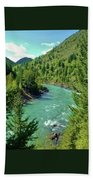 Montana River Beach Towel
