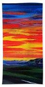 Montana Sunset Colors                     72 Beach Towel