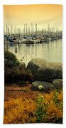 Monterey Marina Vista Beach Towel