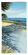Monterey Shadows Beach Towel