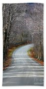 Montgomery Mountain Road Beach Towel