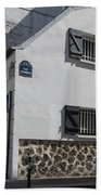 Montmarte Paris Rue Durantin Beach Towel