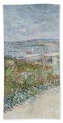 Montmartre  Behind The Moulin De La Galette Paris, July 1887 Vincent Van Gogh 1853  1890 Beach Towel