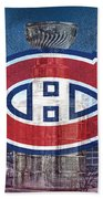 Montreal Canadiens City Beach Towel