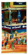 Montreal Jazz Festival Beach Towel