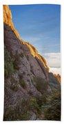 Montserrat Hike Painterly Beach Towel