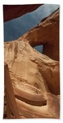 Monument Valley Arch 7369 Beach Towel