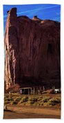 Monument Valley Corral Beach Towel
