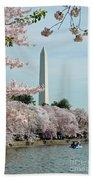 Monumental Cherry Blossoms Beach Towel
