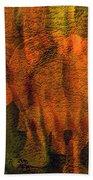Moods Of Africa - Rhinos Beach Towel