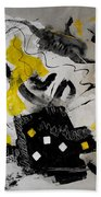 Moods Yellow Let It All Hang Out Beach Towel